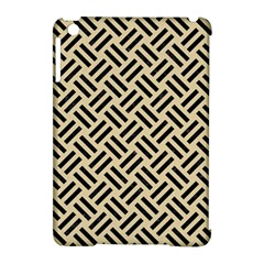 Woven2 Black Marble & Light Sand (r) Apple Ipad Mini Hardshell Case (compatible With Smart Cover) by trendistuff
