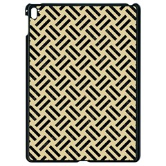 Woven2 Black Marble & Light Sand (r) Apple Ipad Pro 9 7   Black Seamless Case by trendistuff