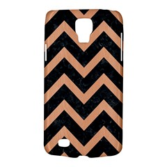 Chevron9 Black Marble & Natural Red Birch Wood Galaxy S4 Active by trendistuff