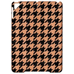 Houndstooth1 Black Marble & Natural Red Birch Wood Apple Ipad Pro 9 7   Hardshell Case by trendistuff