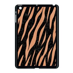 Skin3 Black Marble & Natural Red Birch Wood Apple Ipad Mini Case (black)