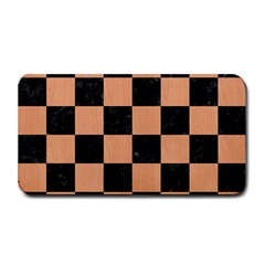 Square1 Black Marble & Natural Red Birch Wood Medium Bar Mats by trendistuff
