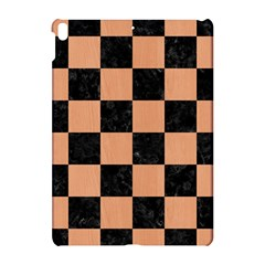 Square1 Black Marble & Natural Red Birch Wood Apple Ipad Pro 10 5   Hardshell Case by trendistuff