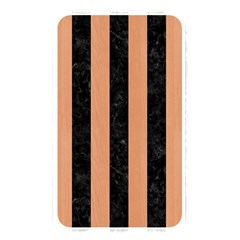 Stripes1 Black Marble & Natural Red Birch Wood Memory Card Reader by trendistuff