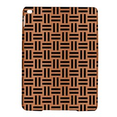 Woven1 Black Marble & Natural Red Birch Wood (r) Ipad Air 2 Hardshell Cases by trendistuff