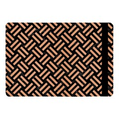 Woven2 Black Marble & Natural Red Birch Wood Apple Ipad Pro 10 5   Flip Case by trendistuff