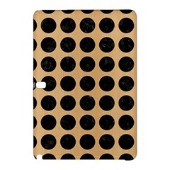 Circles1 Black Marble & Natural White Birch Wood (r) Samsung Galaxy Tab Pro 12 2 Hardshell Case by trendistuff