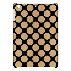 Circles2 Black Marble & Natural White Birch Wood Apple Ipad Mini Hardshell Case by trendistuff