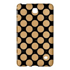 Circles2 Black Marble & Natural White Birch Wood Samsung Galaxy Tab 4 (7 ) Hardshell Case