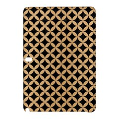 Circles3 Black Marble & Natural White Birch Wood Samsung Galaxy Tab Pro 12 2 Hardshell Case by trendistuff