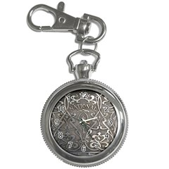 Art Nouveau Silver Key Chain Watches by 8fugoso