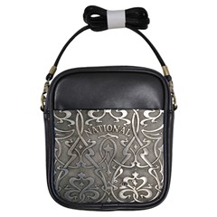 Art Nouveau Silver Girls Sling Bags by 8fugoso