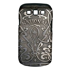 Art Nouveau Silver Samsung Galaxy S Iii Classic Hardshell Case (pc+silicone) by 8fugoso