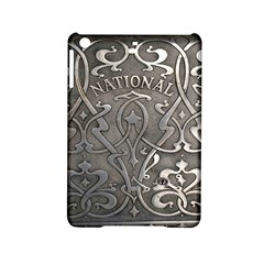 Art Nouveau Silver Ipad Mini 2 Hardshell Cases