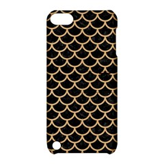 Scales1 Black Marble & Natural White Birch Wood Apple Ipod Touch 5 Hardshell Case With Stand by trendistuff