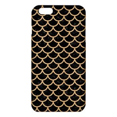 Scales1 Black Marble & Natural White Birch Wood Iphone 6 Plus/6s Plus Tpu Case by trendistuff