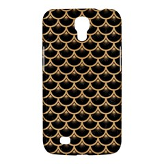 Scales3 Black Marble & Natural White Birch Wood Samsung Galaxy Mega 6 3  I9200 Hardshell Case by trendistuff