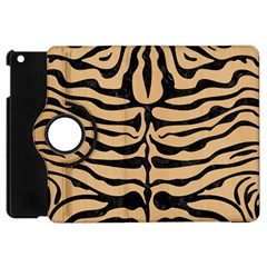 Skin2 Black Marble & Natural White Birch Wood (r) Apple Ipad Mini Flip 360 Case by trendistuff
