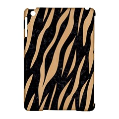 Skin3 Black Marble & Natural White Birch Wood Apple Ipad Mini Hardshell Case (compatible With Smart Cover) by trendistuff