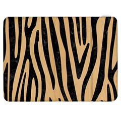 Skin4 Black Marble & Natural White Birch Wood Samsung Galaxy Tab 7  P1000 Flip Case by trendistuff