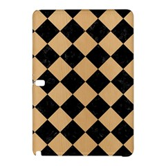 Square2 Black Marble & Natural White Birch Wood Samsung Galaxy Tab Pro 10 1 Hardshell Case by trendistuff