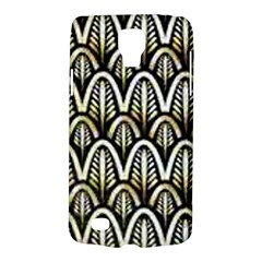 Art Deco Gold Black Shell Pattern Galaxy S4 Active by 8fugoso