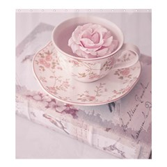 Shabby Chic High Tea Shower Curtain 66  X 72  (large)  by 8fugoso