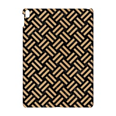 Woven2 Black Marble & Natural White Birch Wood Apple Ipad Pro 10 5   Hardshell Case by trendistuff