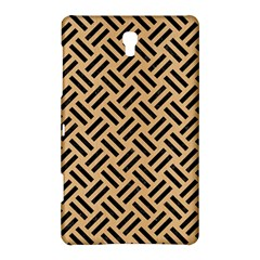 Woven2 Black Marble & Natural White Birch Wood (r) Samsung Galaxy Tab S (8 4 ) Hardshell Case  by trendistuff
