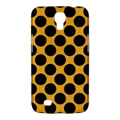 Circles2 Black Marble & Orange Colored Pencil (r) Samsung Galaxy Mega 6 3  I9200 Hardshell Case by trendistuff