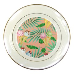 Porcelain Display Plate by JULIEGEESCOLLECTABLES