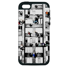 Jump, Jump Apple Iphone 5 Hardshell Case (pc+silicone)