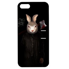 Evil Rabbit Apple Iphone 5 Hardshell Case With Stand by Valentinaart