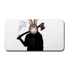 Evil Rabbit Medium Bar Mats by Valentinaart