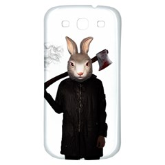Evil Rabbit Samsung Galaxy S3 S Iii Classic Hardshell Back Case by Valentinaart