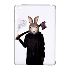 Evil Rabbit Apple Ipad Mini Hardshell Case (compatible With Smart Cover) by Valentinaart