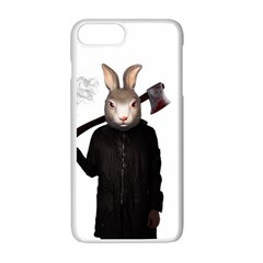 Evil Rabbit Apple Iphone 7 Plus White Seamless Case