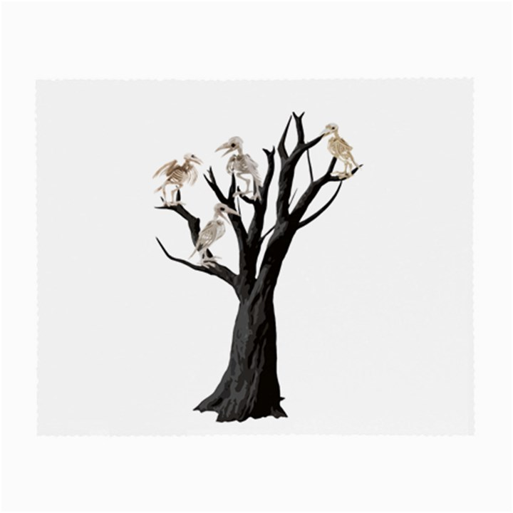 Dead tree  Small Glasses Cloth (2-Side)