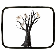 Dead Tree  Netbook Case (large) by Valentinaart
