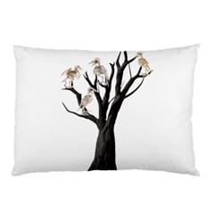 Dead Tree  Pillow Case by Valentinaart