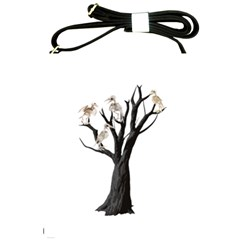 Dead Tree  Shoulder Sling Bags