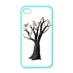 Dead Tree  Apple Iphone 4 Case (color) by Valentinaart
