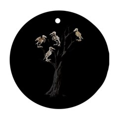 Dead Tree  Ornament (round) by Valentinaart