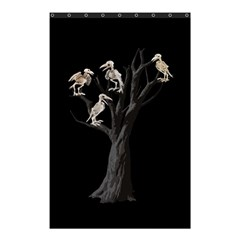 Dead Tree  Shower Curtain 48  X 72  (small)  by Valentinaart