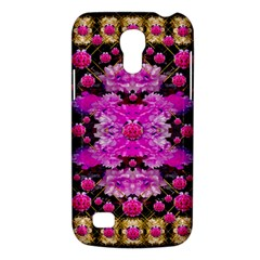 Flowers And Gold In Fauna Decorative Style Galaxy S4 Mini by pepitasart