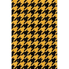Houndstooth1 Black Marble & Orange Colored Pencil 5 5  X 8 5  Notebooks by trendistuff