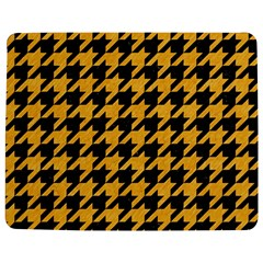 Houndstooth1 Black Marble & Orange Colored Pencil Jigsaw Puzzle Photo Stand (rectangular) by trendistuff