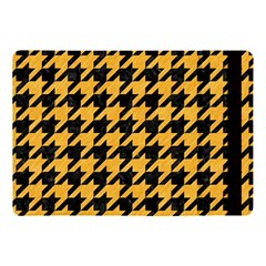 Houndstooth1 Black Marble & Orange Colored Pencil Apple Ipad Pro 10 5   Flip Case by trendistuff