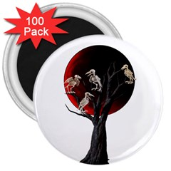 Dead Tree  3  Magnets (100 Pack) by Valentinaart