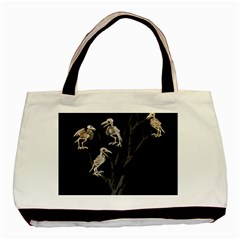 Dead Tree  Basic Tote Bag (two Sides) by Valentinaart